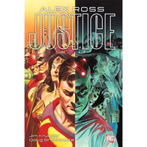 Justice Alex Ross Deluxe Hardcover Edition Dc Comics