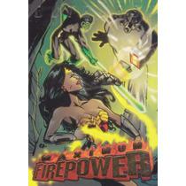 1996 Skybox Dc Outburst Maximum Power Lantern Wonder Woman