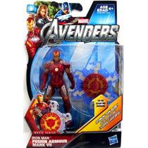Iron Man - Fusion Armor Mark Vii- Avengers -3.75 Pulgadas