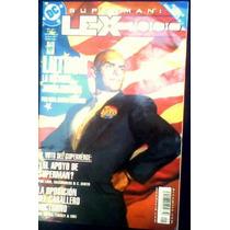 Superman Lex Lutor Genio La Historia Jamas Contada Vv4