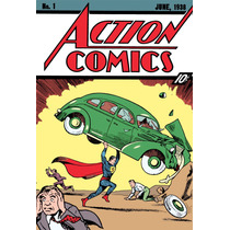 Comic Superman No 1 Año 1938 - Envio Gratis