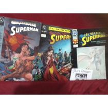 Muerte Superman, Mundo Sin Superman, Regreso De Superman Rm4