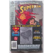 Action Comics 1+ Muerte De Superman Tpb Paquete Aun Sellado.
