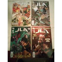 Comics Vid Liga De La Justicia Un Mundo Sin La Liga 4 Tomos