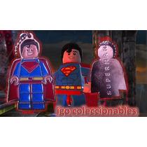 Dije Superman Lego Dc Comics The Avengers Igo Colecc Mercenv