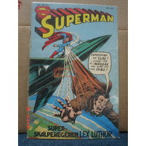 Superman Edición Danesa 1978 Raro Envio Estafeta Incluido