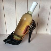 Fashion Porta Botella Para Vino, En Forma De Zapatilla.