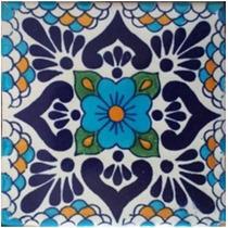 150 Azulejos Talavera Con Envío Incluido