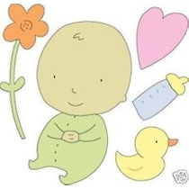 Scrapbook Cuttlebug Suaje Baby Corta Papel De Un Bebe Y Mas
