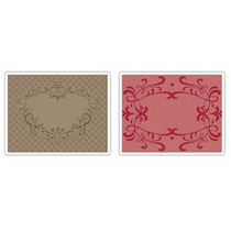 Scrapbook Folders Sizzix Heart & Ornate Frames Set