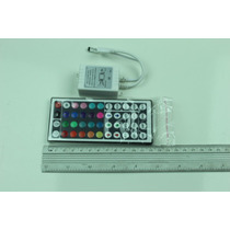 Controlador De Rgb 44 Botones Para Tiras De Led 5050 O 3528