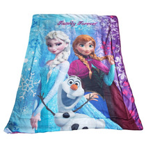 Tb Cobertor Disney Frozen Olaf , Anna & Elsa Baby Blanket