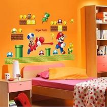 Stickers Decotativos Mario Bros Y Toy Story