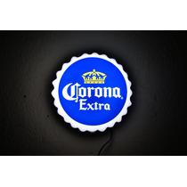 Anuncio Luminoso Ficha Corona