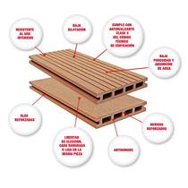Deck Compuesto Deck Sintetico Desde $755.00