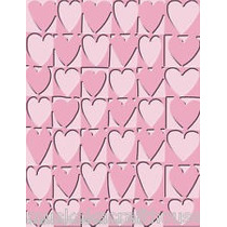 Scrapbook Folder Cuttlebug Heart Blocks Para Grabar Papel