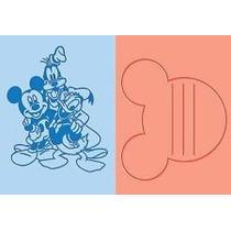 Scrapbook 2 Folders Cuttlebug Mickey Best Pals Para Grabar