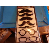Scrapbook Stampabilities 7 Sellos Clear Stamps Mustachos