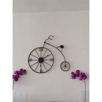 Reloj De Pared Bicicleta Vintage