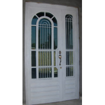Puerta Arclasic De Herreria Rustica Fina