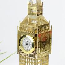 Reloj Bigben Londres Real De Cristal Con Luces 23cm