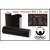 Vinil Negro Pizarron Para Gis De Colores 100 X 70 Cms Nuevo