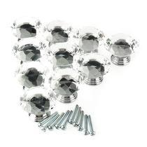 Rbenxia 30mm Cristal Diamante Forma Gabinete Perilla Armari