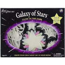 Galaxia De Estrellas Que Brilla En El Kit Oscuro Decoración