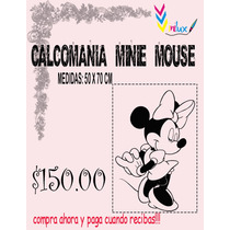 Calca Retro Minie Mouse