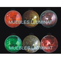 Esferas Navideña Buen Fin D Cristal Con Luz Led 30 Cm 2 X 1