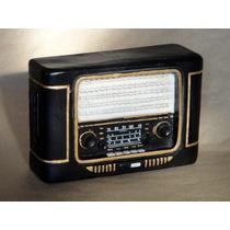 Alcancías Estílo Antiguas Radio Binoculares Zapatilla Print