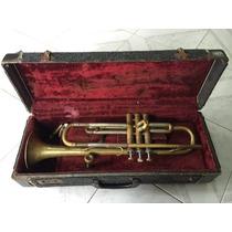 Antigua Trompeta Alemana Marca Carlton Western Germany