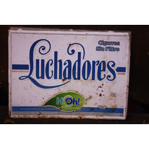 Antigua, Retro, Vintage, Lamina Cigarros Troquelada