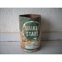 Antiguo Bote De Aceite Quaquer State Decoracion Coleccion