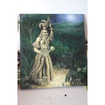 Pintura Cuadro Oleo Chaman