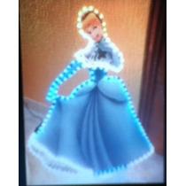 Adorno Navideño Princesa Cenicienta Disney Ruz