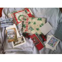 Manteles Y Tarjetas De Navidad