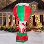 Inflable Navidad Santa Globo Gigante Decoracion 3.65mts