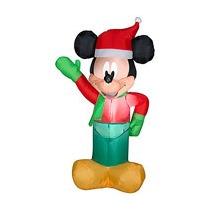Inflable Navidad Mickey Disney Santa Nuevo 1mt De Alto Mimi