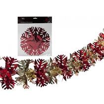 Decoración De Navidad - Escama De La Nieve Garland Red Tree