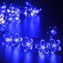 Ledertek Solar Powered Navidad De Flor Luces De Hadas De Cue