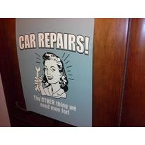 Antigua Lamina Reparacion De Autos