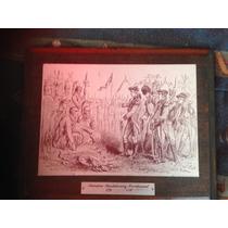 Cuadro Con Placa Bicentenario Revolución Americana