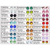 Tipo Swarovski 50 Piezas X Color Y Tamaño 4900 Cristales Mn4