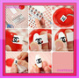Calcamonias Stickers Decoracion De Uñas Diseño Manicure