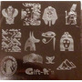 Placas Estampado Uñas Sello Tipo Konad Egipcio # G11