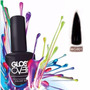 Esmalte Gel Uñas Tipo Gelish Gloss Over Color Negro Magic