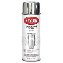 Krylon Espejo De Plata-como Aerosol Pintura En Aerosol 6 Oz.