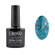 Lote 10 Pz, Elite99, Gel Polish Glitter