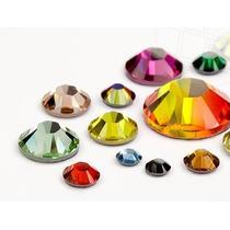 300 Pcs Cristal / Piedra Swarovski De Uñas. 100% Original